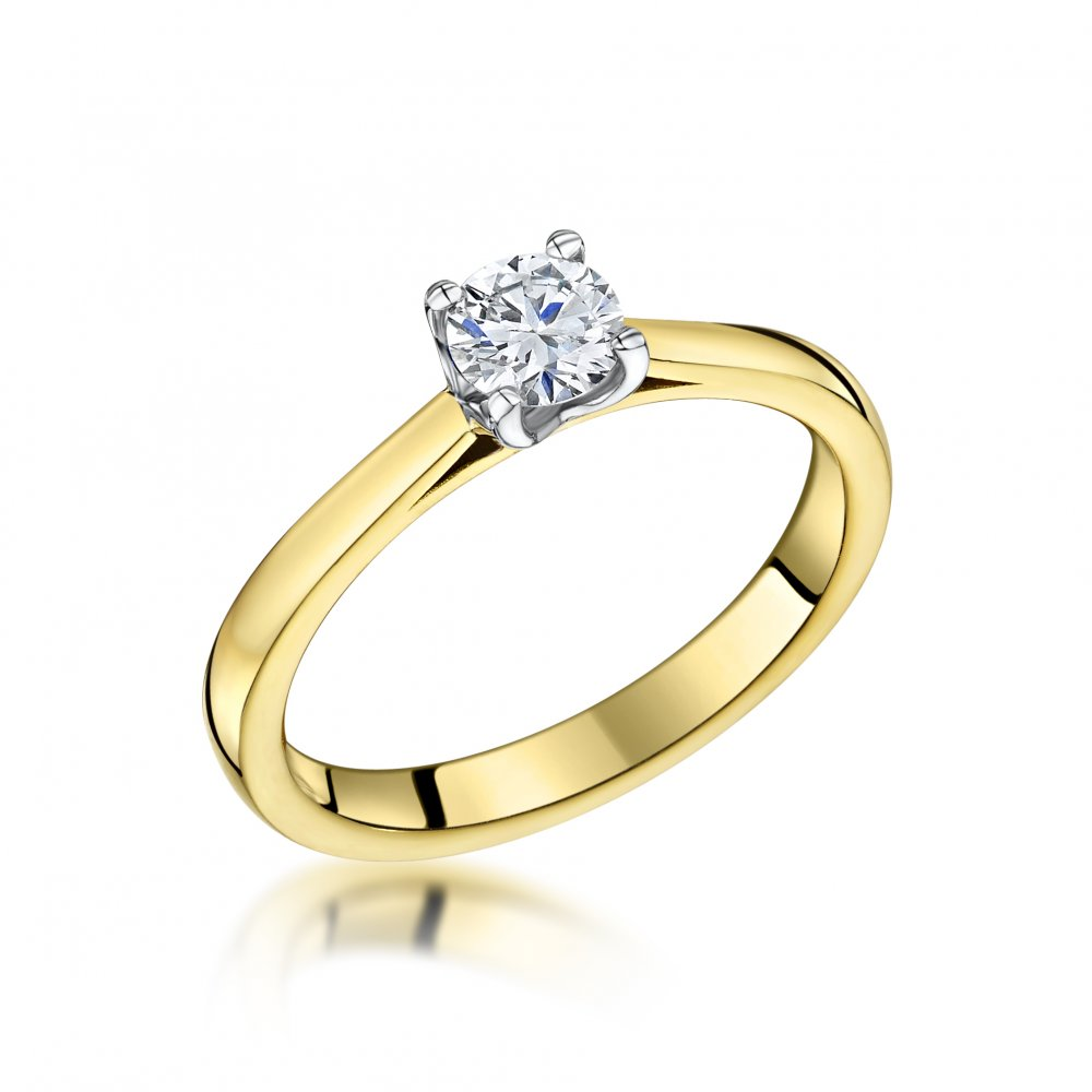 half ring engagement diamond carat solitaire pear